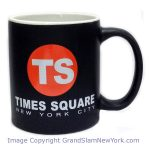 NYC Times Square Circle Matte 11oz Mug