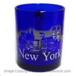 NYC Glowing Night Skyline 11oz Mug – Cobalt