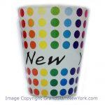 NY Polka Dots Shot Glass