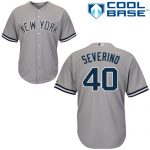 Luis Severino NY Yankees Replica Road Jersey