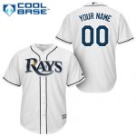 Tampa Bay Rays Replica Personalized Youth Home Jersey