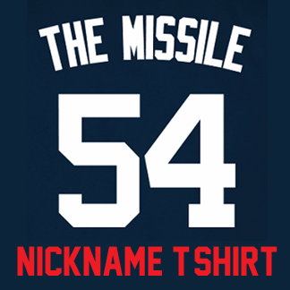 best sneakers c5b2a efc57 The Missile Youth T-Shirt – Navy Aroldis Chapman Yankees ...