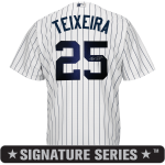 Mark Teixeira Signature Series Jersey – NY Yankees Replica Adult Home Jersey