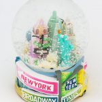 NYC Pastel Street Signs 45mm Snowglobe