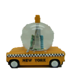 New York Taxi 45mm Snow Globe
