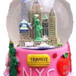 NYC Transit Pink 65mm Snowglobe