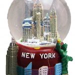 NY Skyline Big Apple Base 45mm Snowglobe