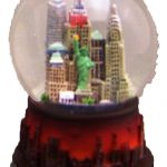 NY City Never Sleeps 45mm Snowglobe