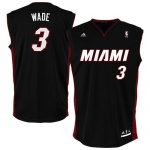 Miami Heat Dwyane Wade Youth Replica Road Jersey