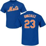Adrian Gonzalez T-Shirt – Blue NY Mets Adult T-Shirt