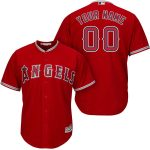 LA Angels Personalized Replica Red Alt Jersey