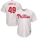 Jake Arrieta Jersey – Philadelphia Phillies Replica Adult Home Jersey