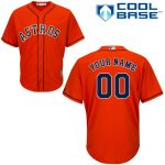 Houston Astros Replica Personalized Orange Alt Jersey