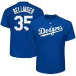 Cody Bellinger T-Shirt – Blue LA Dodgers Adult T-Shirt