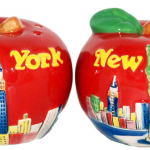 NYC Big Apple Salt & Pepper Shakers