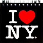 I Love NY Black Pocket Notebook