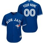 Toronto Blue Jays Replica Personalized Royal Blue Alt Jersey