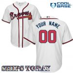 Atlanta Braves Replica Personalized Youth Home Jersey