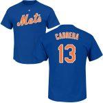 Asdrubal Cabrera T-Shirt – Blue NY Mets Adult T-Shirt