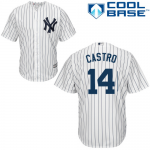 Starlin Castro Youth Jersey – NY Yankees Replica Kids Home Jersey