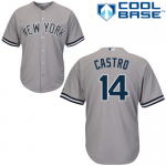 Starlin Castro Jersey – NY Yankees Replica Adult Road Jersey