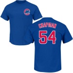 Aroldis Chapman T-Shirt – Blue Chicago Cubs Adult T-Shirt