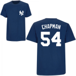Aroldis Chapman T-Shirt – Navy NY Yankees Adult T-Shirt