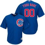 Chicago Cubs Replica Personalized Royal Alt Jersey