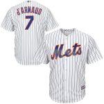 Travis D'Arnaud Youth Jersey – New York Mets Replica Kids Home Jersey