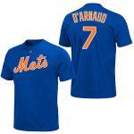 Travis D'Arnaud T-Shirt – Blue New York Mets Adult T-Shirt
