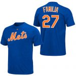 Jeurys Familia T-Shirt – Blue New York Mets Adult T-Shirt