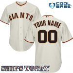 San Francisco Giants Replica Personalized Home Jersey