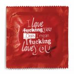 I Love You.. Opps Condom