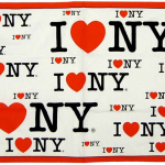I Love NY Tea Towel