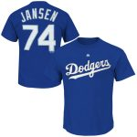 Kenley Jansen T-Shirt – Blue LA Dodgers Adult T-Shirt