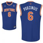 Kristaps Porzingis Youth Jersey – NY Knicks Youth Road Revolution Jersey