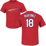 Carlos Martinez Youth T-Shirt – Red St Louis Cardinals Kids T-Shirt