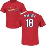 Carlos Martinez Youth T-Shirt – Red St Louis Cardinals Kids T-Shirt