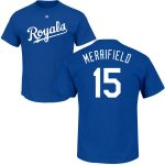 Whit Merrifield Youth T-Shirt – Blue Kansas City Royals Kids T-Shirt