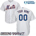 NY Mets Replica Personalized Home Jersey