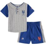 NY Mets Kids Pinstripe 2-pc. Set