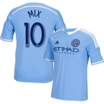 Mix Diskerud Blue Primary Replica Youth Jersey: NYCFC