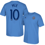 Mix Diskerud Blue Adult T-Shirt: NYCFC