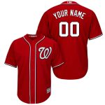 Washington Nationals Personalized Replica Red Alt Jersey