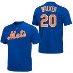Neil Walker T-Shirt – Blue NY Mets Adult T-Shirt