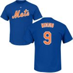 Brandon Nimmo T-Shirt – Blue NY Mets Adult T-Shirt