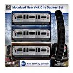 MTA Motorized New York City Subway Set W/ Track