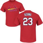 Marcell Ozuna Youth T-Shirt – Red St Louis Cardinals Kids T-Shirt