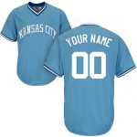 Kansas City Royals Cooperstown Personalized Home Jersey