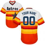 Houston Astros Cooperstown Personalized Rainbow Jersey